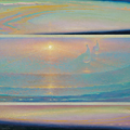 THE DREAMS OF ENLIGHTENMENT 1999 (oil on canvas) 55x130