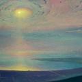 THE BAY OF GELENDJIK 1999-2000 (oil on canvas) 45x100