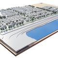 stadtmodell-miniaturmodell-neubausiedlung