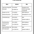 Alle wichtigen Termine rund um Rahlstedt, Oldenfelde und natürliche Meiendorf