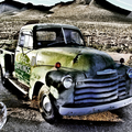 Old Green Truck