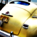 Old Yellow Plymouth