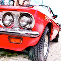 Corvair Red