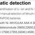 Baterias compatibles con el cargador