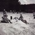 Panzermörser im abgesessenen Einsatz.