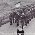 Panzergrenadierbataillon 362 stellt 1984 die Marschgruppe des Heeres beim 68. Vier-Tage-Marsch in Nijmegen.