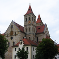 Ellwangen - Südansicht der Basilika