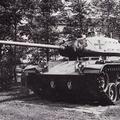 Der neben dem HS 30 in der schweren Kompanie des Bataillons eingesetzte Kampfpanzer M 41 (1958 bis 1967).