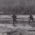 Panzergrenadiere im abgesessenen Einsatz.