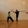 Schwertseminar an unserer Schule mit Frank Miller, Mai 2013