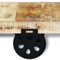 tavolino arredo + industriale +vintage +sandroshop
