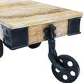 tavolino +stile +industriale +arredo +sandro shop