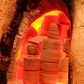Die Schalen im 1.ten Brand (Schrühbrand)
