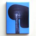 Magnet Kijno Angela Davis bleu