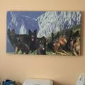 Collage erstellt und die wurde auf eine Rotwellenheizung gedruckt