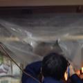 『エアコン徳島空調屋』 徳島市 商店街 エアコンクリーニング エアコン分解洗浄 Cafébar カフェバー キッチン