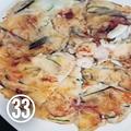 ㉝スイカの皮入り海鮮チヂミ