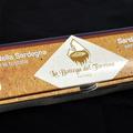 Torrone alle mandorle tostate e mirto - scatola da 300 g.