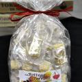 Torroncini di mandorle tostate - confezione da 400 g.