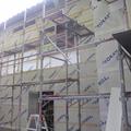 NEXT!外壁材(サイディング)工事の下準備。胴縁を打ちます。