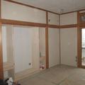 収納スペースに家具を造作