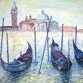 Venedig | Acryl auf Leinwand | 100 x 70 cm
