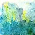 Camelot | Acryl auf Leinwand | 90 x 70 cm | Sandtechnik