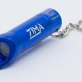 ZIMA- Lasergravur auf Schlüsselleuchte.