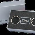 ZIMA- Lasergravur auf Schlüsselanhänger