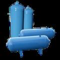 Serbatoi per aria compressa da 0,5 litri a 10.000 litri. Standard o a speciali a disegno