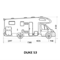 Duke 53 Reisemobile Schmidt