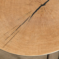 As with a finger print no two Heerenhuis Oak table is the same.