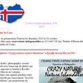 Site et lettre d'information de l'association France Islande
