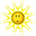 sun surprised