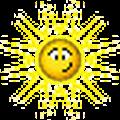sun abashed