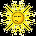 sun irritated