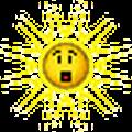 sun shocked