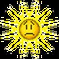 sun sad