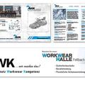 AWK - Werbebanner, Design für Kataloge / Werbung