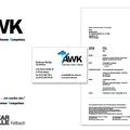 AWK - Logo-Relaunch, Logo mit Slogan, Wortmarke, Anpassung der Geschäftspapiere