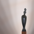 Schwarze Prinzessin | Belguique Nero | 105 x 23 x 14 cm (h x b x t) | 2003 | € 6.200.-