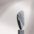 Kleiner Schwarzer | Kalkstein Schweiz | 32 x 11 x 7 cm (h x b x t) | 2006 | (verk.)