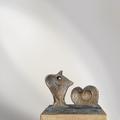 Hommage an H.M. | Bronze | ca. 16 cm | 2010 | € 1200.-