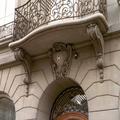 Reinigung von Sandstein-Ornamenten - Vorher