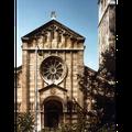 Reinigung der Dreifaltigkeitskirche Bern - Vorher
