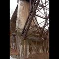 Renovation Kornhausbrücke Bern, Wiederlagerreinigung - Vorher