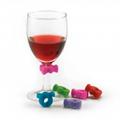 Ensemble d'identificateurs à verre de vin en forme de nœud papillon (3,99$)