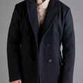 Billy Read Peacoat Jacket marine