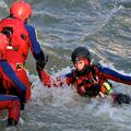 DLRG rettet bei Überflutungen
