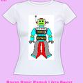 Robo Teknolog Bayan Tişört